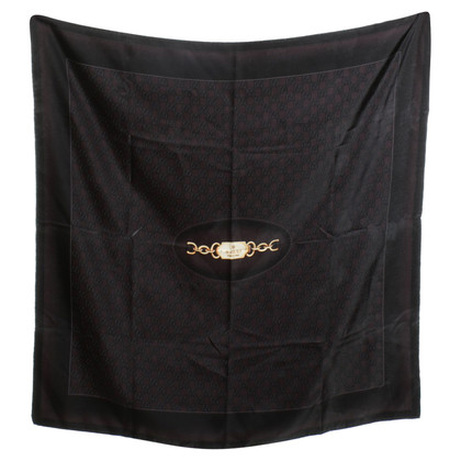 Gucci Silk scarf with Guccissima pattern