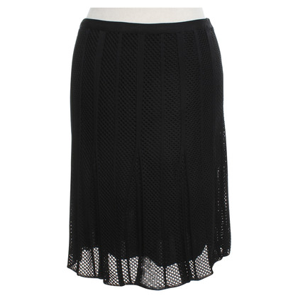 Christian Dior skirt made of hole knit