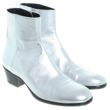 Maison Martin Margiela Boots in silver