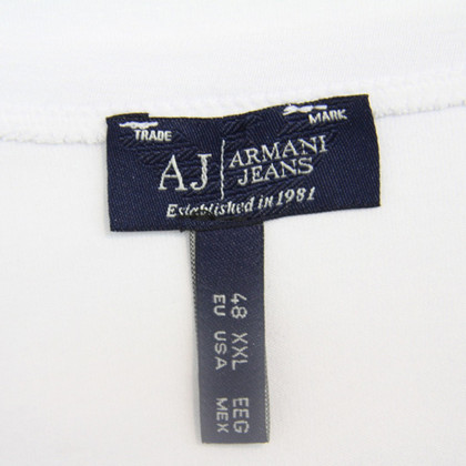 Armani Jeans  T-shirt in white