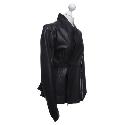 Rick Owens Leather jacket in black