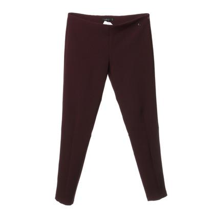 Twin-Set Simona Barbieri Trousers Bordeaux colors