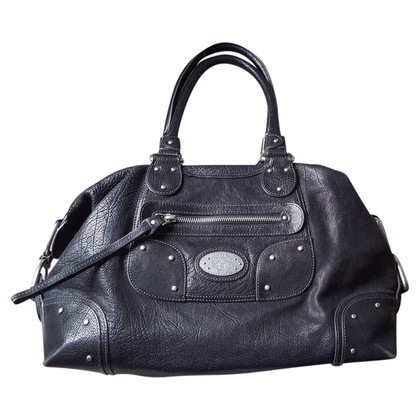 Bally Black leather handbag