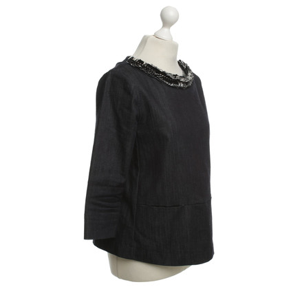 Dorothee Schumacher Jean shell with jewelry collar