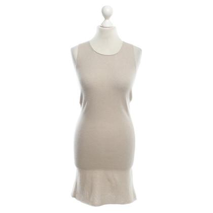 Allude Kaschmir-Kleid in Beige