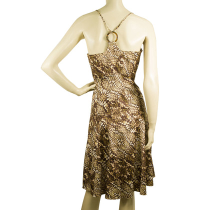 Just Cavalli Snake Print  Mini Dress