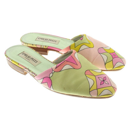 Emilio Pucci Sandals in bloemdessin