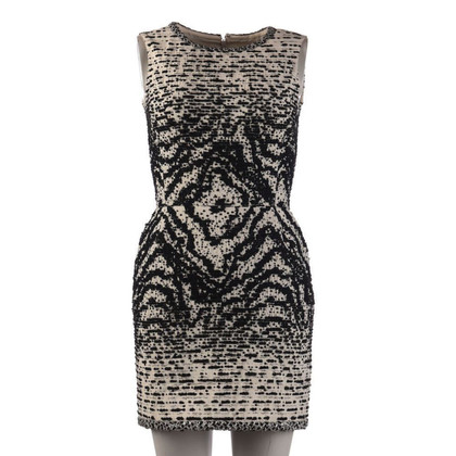 Oscar de la Renta Dress in black / white