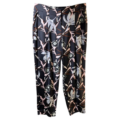 Dorothee Schumacher Silk trousers with pattern