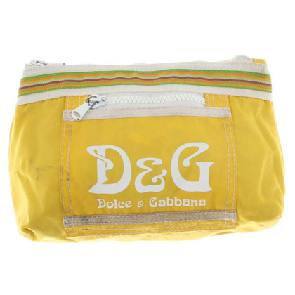 Dolce & Gabbana clutch in yellow