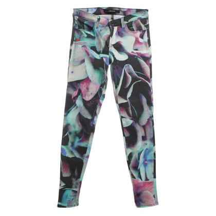 J Brand Jeans mit buntem Muster