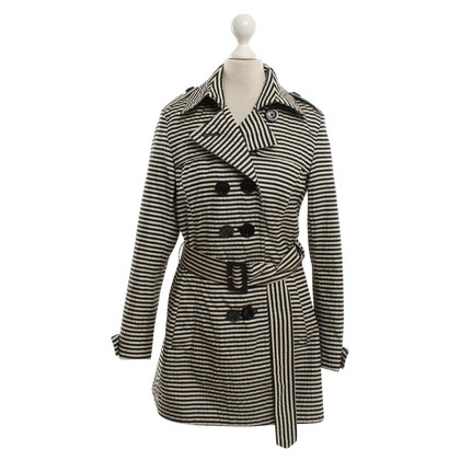 Herno Trenchcoat with stripes