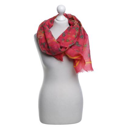 Bogner Sjaal met bloemmotief