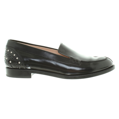 Tod's Loafer with rivet applications