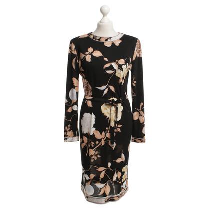 Leonard Silk dress in color