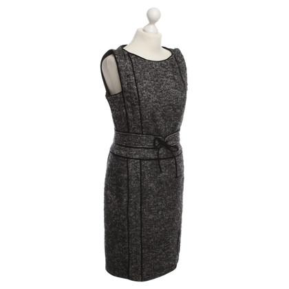 Max Mara Sheath dress with herringbone pattern