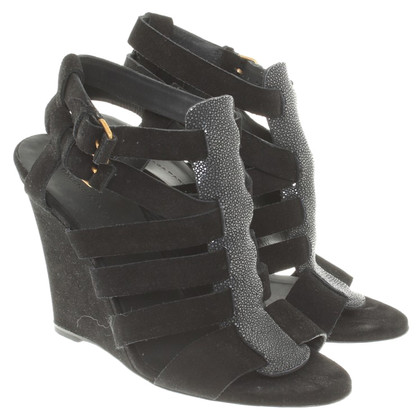 Balenciaga Wedges in zwart