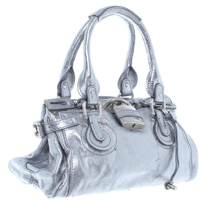 Chloé Handbag in Silver metallic