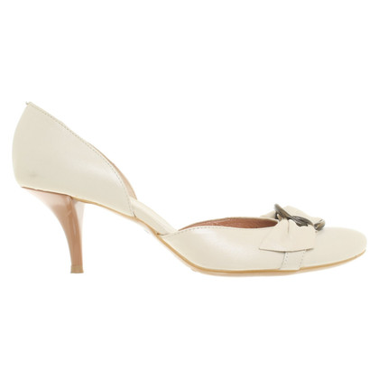 Vic Matie pumps in cream