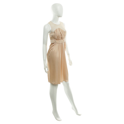 Stella McCartney Silk dress in Nude