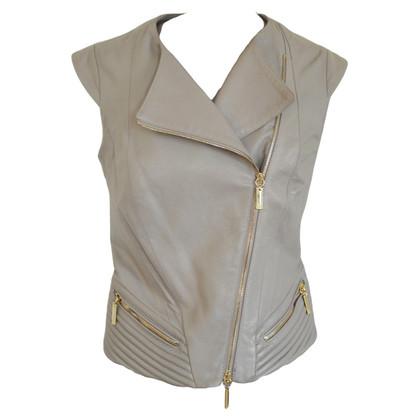 Elisabetta Franchi Leather vest
