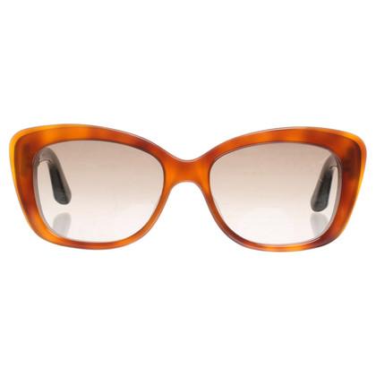 Christian Dior Occhiali da sole Cateye in marrone