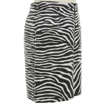 Michael Kors skirt with zebra print