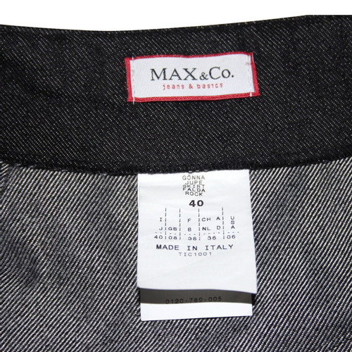 new arrival e10c7 77f21 Max & Co JEANSROCK BLACK - Second Hand Max & Co JEANSROCK ...