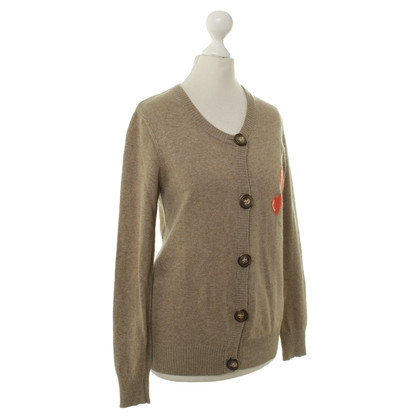 Dolce & Gabbana Strickjacke in Braun