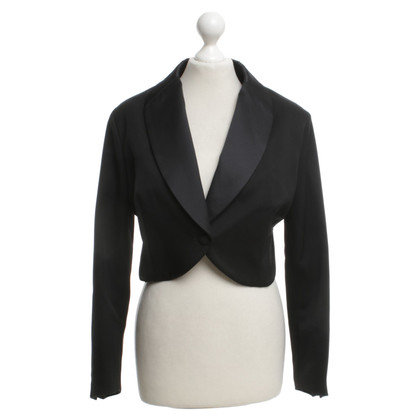 Yves Saint Laurent Blazer court en noir