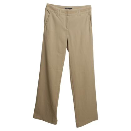 Marc Cain Eenvoudige broek in beige