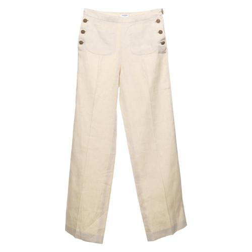 the latest 67c0e 150fb Chanel Pantaloni di lino beige - Second hand Chanel ...