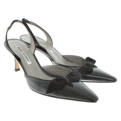 Manolo Blahnik Sling-pumps in black