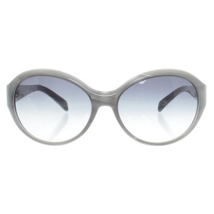Jil Sander Sonnenbrille in Graublau