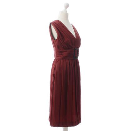 Alberta Ferretti Ruw cocktail jurk