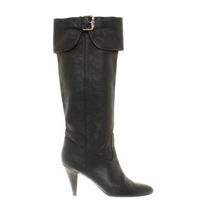 Hugo Boss Stivali invernali in nero
