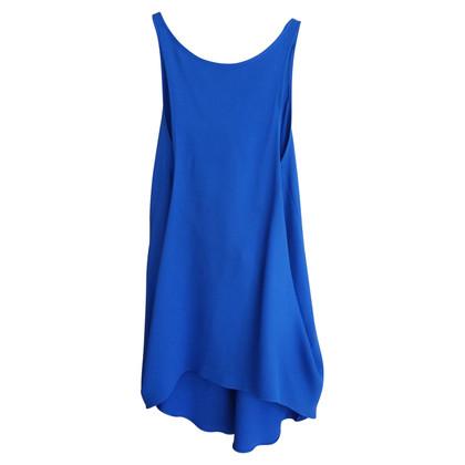 Victoria Beckham parte superiore blu