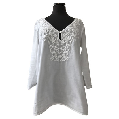 Velvet Tunic with embroidery
