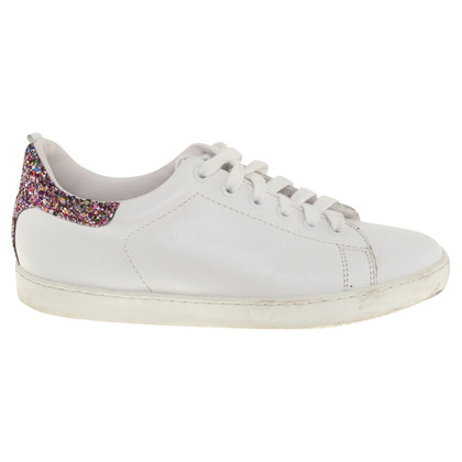 Maje Sneaker with sequin trimming