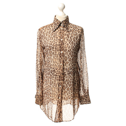Dolce & Gabbana Dierlijke print blouse