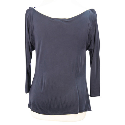 L.K. Bennett Top in blu scuro