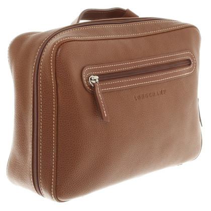 Longchamp Cosmetic bag in marrone
