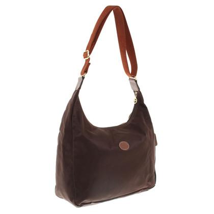 Longchamp Borsa a tracolla in marrone