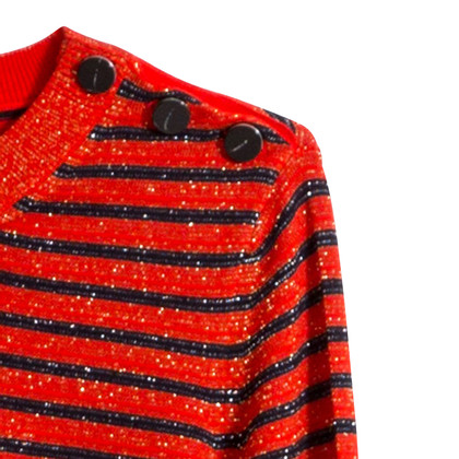 Carven Striped merino sweater