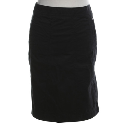 Marc Cain Cotton skirt in black