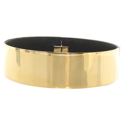 Céline Choker in gold