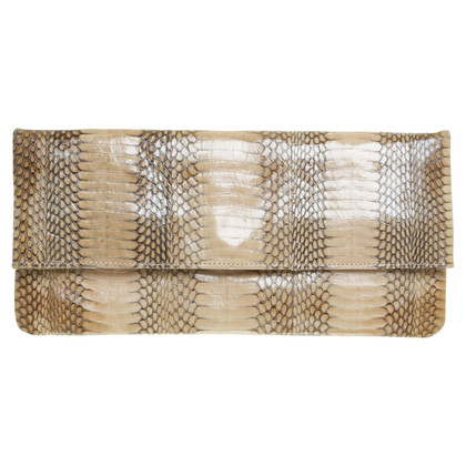 Other Designer clutch snake leather