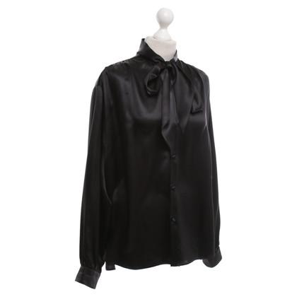 Balenciaga blouse zwart