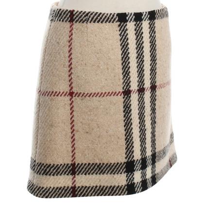 Burberry Miniskirt with Nova check pattern