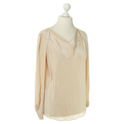 Iheart Silk blouse in nude